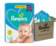 Pampers New Baby 2 Mini 4-8kg 228szt Zapas Na Miesiąc - 307956 - zdjęcie 1