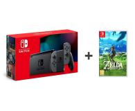 Nintendo Switch Joy-Con Gray + Zelda: Breath of the Wild - 521190 - zdjęcie 1
