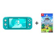 Nintendo Switch Lite (Morski) + Zelda: Link's Awakening - 521185 - zdjęcie 1