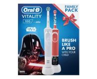Oral-B Vitality 100 White + D100 Kids StarWars - 522867 - zdjęcie 2