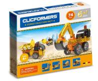 CLICS CLICFORMERS Maszyny budowlane 70el 802001 - 524210 - zdjęcie 1