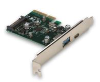 i-tec Adapter PCIe - USB-C, USB, SATA - 518549 - zdjęcie 1
