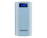 ADATA Power Bank P20000D 20000mAh 2.1A (niebieski) - 518795 - zdjęcie 1