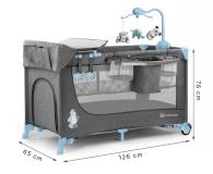 Kinderkraft Joy Blue + akcesoria - 487545 - zdjęcie 8