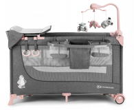 Kinderkraft Joy Pink + akcesoria - 389986 - zdjęcie 3