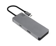 Green Cell HUB USB-C - 3xUSB, HDMI, SD (4K, DeX) - 520294 - zdjęcie 2