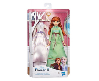 Hasbro Frozen 2 Stylowa lalka Anna +  ubranka - 518944 - zdjęcie 4