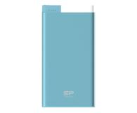 Silicon Power Power Bank 10000 mAh, 2.1A (niebieski) - 527077 - zdjęcie 1