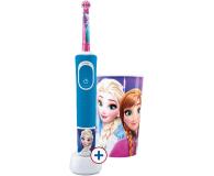 Oral-B D100 Kids Frozen + Kubek - 522885 - zdjęcie 1