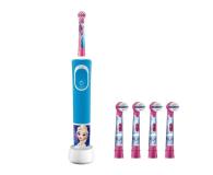 Oral-B D100 Kids Frozen + końcówki EB10-4 - 527037 - zdjęcie 1