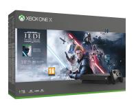 Microsoft Xbox One X + STAR WARS: Upadły Zakon - 527910 - zdjęcie 1