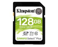 Kingston 128GB Canvas Select Plus odczyt 100MB/s - 529852 - zdjęcie 1