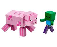 LEGO Minecraft BigFig - Świnka i mały zombie - 532513 - zdjęcie 2