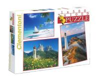 Clementoni Puzzle 1x500+2x1000 el. Krajobrazy - 478531 - zdjęcie 1