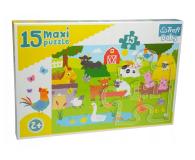 Trefl 15 el MAXI Zwierzęta na wsi  - 479254 - zdjęcie 1