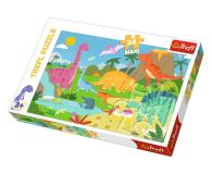 Trefl 24-Maxi W świecie dinozaurów  - 479483 - zdjęcie 1