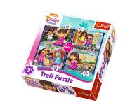 Trefl 4w1 Dora i przyjaciele  - 479508 - zdjęcie 1