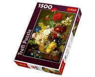 Trefl 1500 el Martwa natura z kwiatami  - 479225 - zdjęcie 1