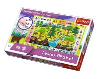 Trefl 48 el edukacyjne Leśny Alfabet - 479567 - zdjęcie 1