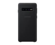 Samsung Silicone Cover do Galaxy S10 czarny - 478351 - zdjęcie 1