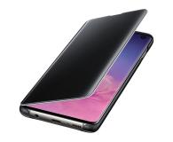 Samsung Clear View Cover do Galaxy S10 czarny - 478342 - zdjęcie 1