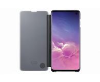 Samsung Clear View Cover do Galaxy S10 czarny - 478342 - zdjęcie 3