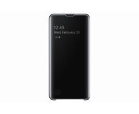 Samsung Clear View Cover do Galaxy S10 czarny - 478342 - zdjęcie 2