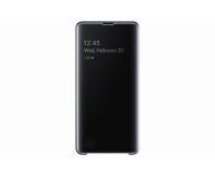 Samsung Clear View Cover do Galaxy S10+ czarny - 478383 - zdjęcie 2