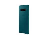 Samsung Leather Cover do Galaxy S10+ zielony - 478405 - zdjęcie 4