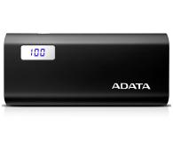 ADATA Power Bank P12500D 12500mAh 2A (czarny) - 476940 - zdjęcie 1