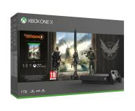 Microsoft Xbox One X 1TB + The Division2 - 481287 - zdjęcie 1