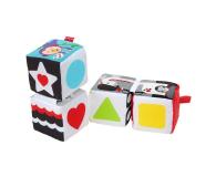 Zabawka dla małego dziecka Fisher-Price Miękkie Klocki Sensoryczne