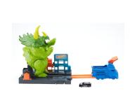 Hot Wheels City Zestaw Starcie Z Triceratopsem - 477998 - zdjęcie 2