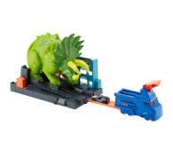Hot Wheels City Zestaw Starcie Z Triceratopsem - 477998 - zdjęcie 1