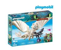 PLAYMOBIL Biała Furia z małym smokiem i dziećmi - 478465 - zdjęcie 1