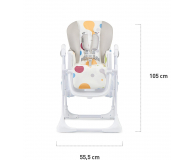 Kinderkraft Yummy Multicolor - 469422 - zdjęcie 8