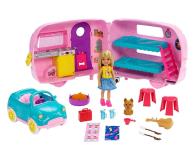 Barbie Przyczepa Kempingowa Chelsea + Lalka - 487225 - zdjęcie 1