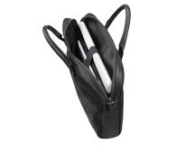 "Samsonite Senzil 15,6"" Leather Black - 489093 - zdjęcie 4"