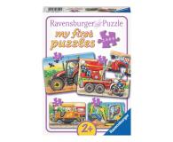 Ravensburger Puzzle drewniane Ciężka praca - 481751 - zdjęcie 1