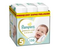 Pampers Premium Care 5 Junior 11-16kg 136szt Zapas - 491557 - zdjęcie 1