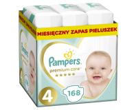 Pampers Premium Care 4 Maxi 8-14kg 168szt Zapas - 491555 - zdjęcie 1