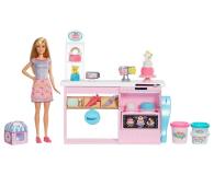 Barbie Pracownia Wypieków + Lalka - 488472 - zdjęcie 1