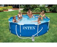 INTEX Basen stelażowy ogrodowy 305x76 cm - 477368 - zdjęcie 2