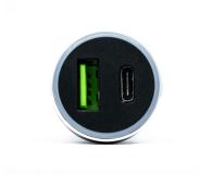 Silver Monkey Ładowarka samochodowa USB-C, 3A, PD, QC 3.0 - 487142 - zdjęcie 4