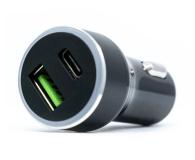 Silver Monkey Ładowarka samochodowa USB-C, 3A, PD, QC 3.0 - 487142 - zdjęcie 1