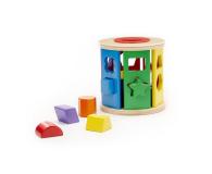 Melissa & Doug Drewniany walec sorter kształtów i kolorów - 500695 - zdjęcie 2