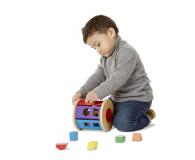 Melissa & Doug Drewniany walec sorter kształtów i kolorów - 500695 - zdjęcie 4