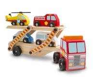 Melissa & Doug Laweta drewniana z samochodzikami - 500638 - zdjęcie 1