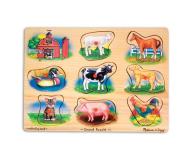 Melissa & Doug Puzzle drewniane Farma - 500401 - zdjęcie 1