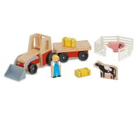 Melissa & Doug Drewniany traktor Farm - 500742 - zdjęcie 1